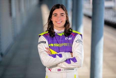 Chadwick: W Series permite avançar ao meu objetivo final, a Fórmula 1