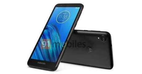 Renderização do Motorola Moto E6. Imagem: 91Mobiles/Reprodução.