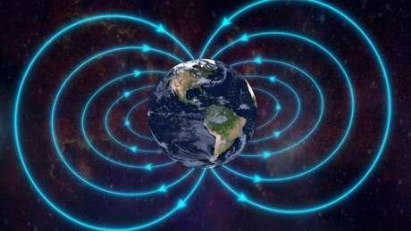 Sem a proteção do campo magnético, não poderia haver vida na Terra
