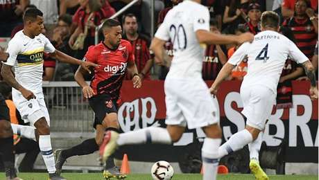 Athletico-PR está garantido nas oitavas de final da Libertadores