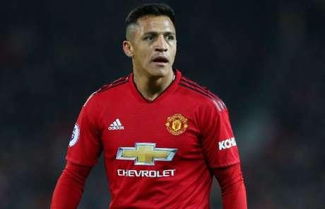 Sánchez não rendeu o esperado no Manchester United (Foto: Reprodução/MUFC)