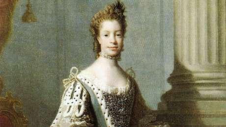 Sophie Charlotte de Mecklenburg-Strelitz, mulher do rei George III (1738-1820), era descendente direta de uma africana
