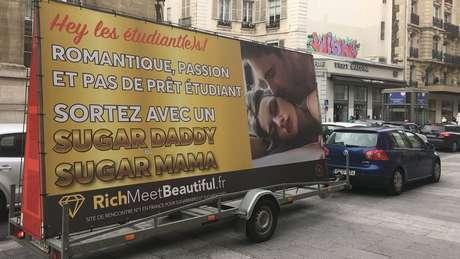 O anúncio também foi divulgado na França