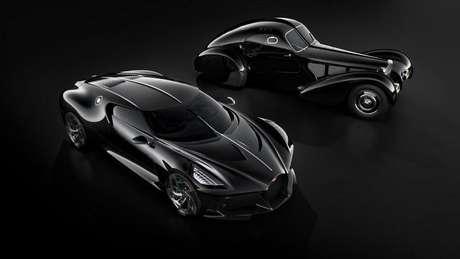 Prêmio da Mega-Sena compraria três Bugatti La Voiture Noire, carro do CR7 avaliado em mais de R$ 70 milhões