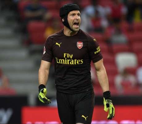 Cech é ídolo do Chelsea (Foto: Reprodução)