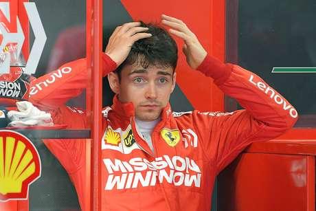 Leclerc lamenta estranho equilíbrio da Ferrari na qualificação do GP da Espanha