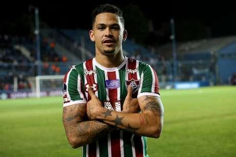 Luciano assumiu o protagonismo do ataque Tricolor (Foto: Lucas Merçon/Fluminense)