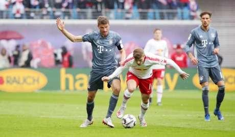 Bayern e Leipzig fizeram um jogo movimentado