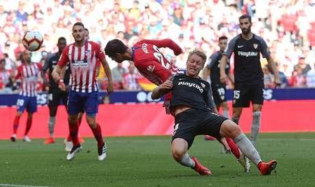 Sevilla buscou o empate fora de casa (Foto: Divulgação Twitter)