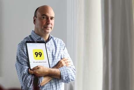 Paulo Veras, fundador do aplicativo 99, que foi vendido por US$ 600 milhões (Arquivo: 06/01/2018)