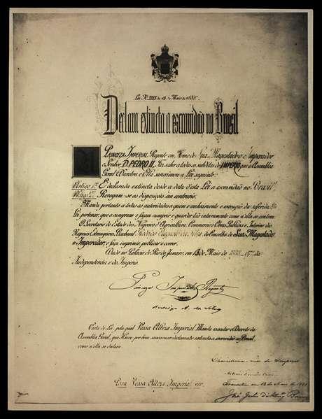 Lei Áurea excluiu uma série de dispositivos reivindicados pelos abolicionistas, entre eles a distribuição de terras aos alforriados