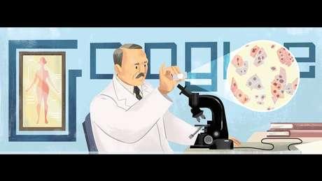 O Google homenageou o médico grego no 136º aniversário de seu nascimento