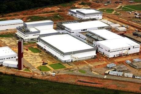 O complexo da Hemobrás na cidade deGoiana, em Pernambuco
