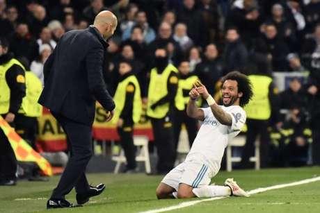 Zidane também blindou o jogador de especulações de mercado (Foto: Christophe Simon / AFP)