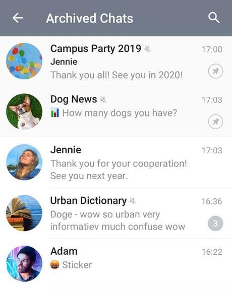 Imagem: Telegram/Reprodução.