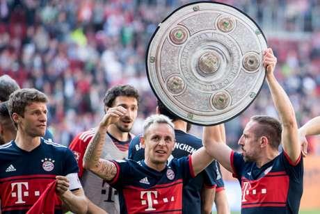 Rafinha se despede do Bayern de Munique (Foto:AFP)