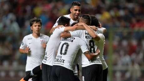 Em 2018, pela Copa Libertadores, o Corinthians goleou o Deportivo Lara por 7 a 2, fora de casa (Foto: AFP)