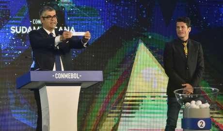 O Galo tentará avançar na Sul-Americana em duelo inédito contra o Únion La Calera-CHI- NORBERTO DUARTE / AFP