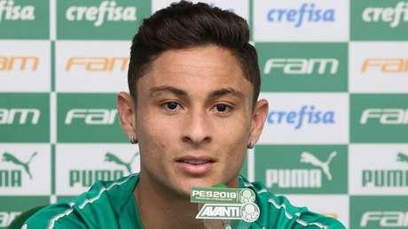 Lateral destaca qualidade do líder e dono de melhor ataque e defesa do Brasileiro (Fabio Menotti/Agência Palmeiras)