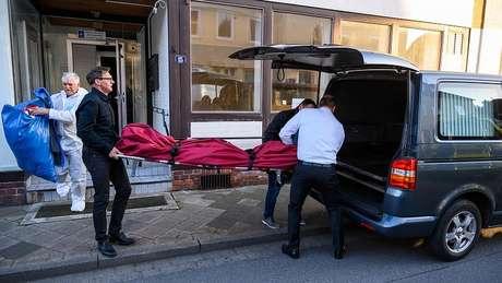 Mais dois corpos apareceram em um apartamento em Wittingen, no norte da Alemanha