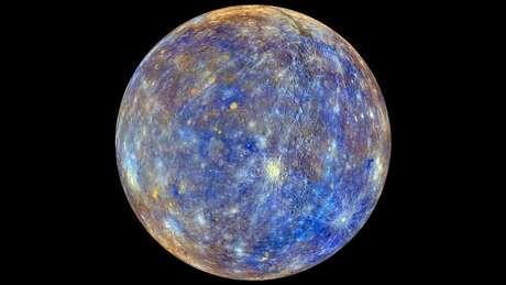 Mercúrio encolheu mais que a Lua
