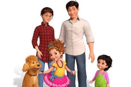 'Fancy Nancy Clancy' é uma série animada também do Disney Junior.