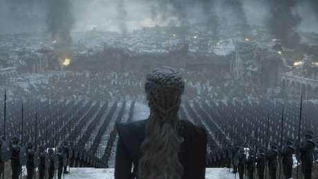 Cena do último episódio da última temporada de 'Game of Thrones' divulgada pela HBO.