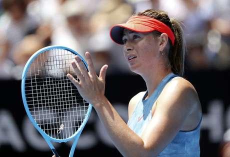 Tenista russa Maria Sharapova. 20/1/2019. REUTERS/Lucy Nicholson