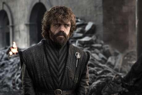Peter Dinklage em foto do episódio final de 'Game of Thrones'
