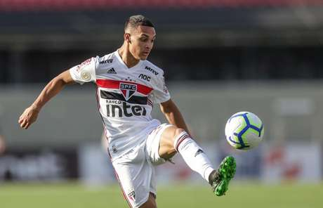 Antony foi chamado por André Jardine, atual técnico da Seleção sub-23 (Foto: Rubens Chiri/saopaulofc.net)