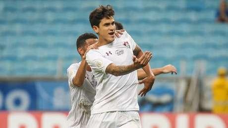Pedro marcou dois gols na temporada (Foto: LUCAS MERÇON / FLUMINENSE F.C.)