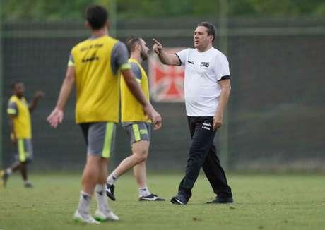 Luxemburgo comandou seu primeiro treino no Vasco (Rafael Ribeiro/Vasco.com.br)