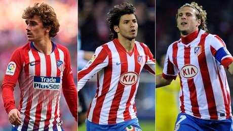 Atlético soube usar o dinheiro da venda de suas estrelas (Foto: Reprodução)