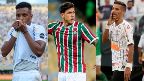 Rodrygo, Pedro e Pedrinho estão na relação de 22 nomes (Foto: Reprodução)