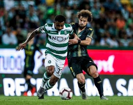 Wendel atuou por 27 jogos do Sporting na temporada, marcou dois gols e deu uma assistência (Divulgação)