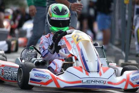 Destaque na abertura com top-5, Matheus Ferreira disputa segunda etapa do Europeu de Kart na Bélgica