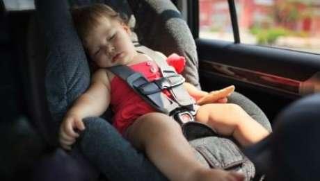 Cadeirinha de carro pode ser um perigo para o bebê