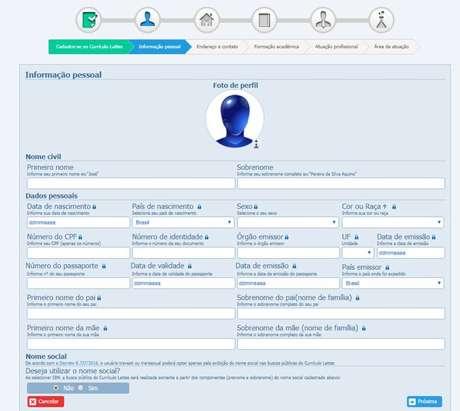 A plataforma Lattes é o sistema oficial que reúne informações de pesquisadores de todo o País