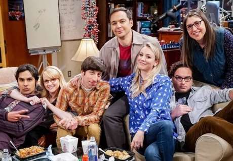 Elenco de 'The Big Bang Theory'.