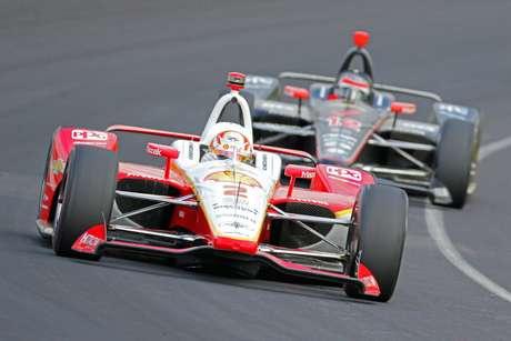 Indy 500: Newgarden lidera 2º dia no IMS; Alonso e Rosenqvist batem forte