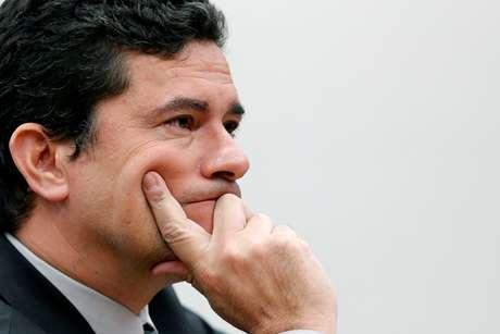 Ministro da Justiça e Segurança Pública, Sergio Moro, em Brasília 08/05/2019 REUTERS/Adriano Machado