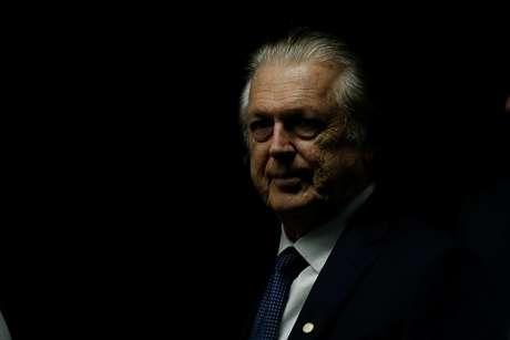Presidente do PSL, Luciano Bivar, no Congresso, em Brasília 20/2/2019 REUTERS/Adriano Machado