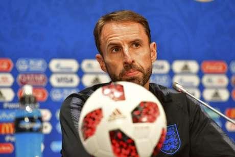 Gareth Southgate tem apostado em jovens nas últimas convocações da Inglaterra (Mladen ANTONOV/AFP)