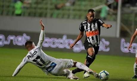 Atlético-MG e Santos não saíram do zero no Independência (Foto: Divulgação/Twitter Atlético-MG)