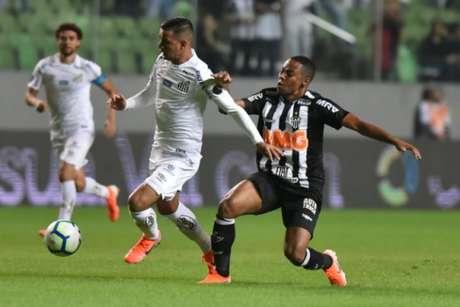 O 0 a 0 em BH não desanimou o Atlético-MG que tem crença em um bom jogo na volta, provavelmente na Vila Belmiro- Ivan Storti/Santos FC