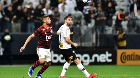 Centroavante do Corinthians foi substituído no segundo tempo do jogo contra o Flamengo, na última quarta (EDUARDO CARMIM/PHOTO PREMIUM)