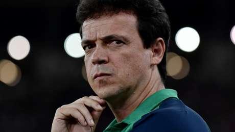 Fernando Diniz quer mais efetividade do ataque tricolor (Foto: Marcello Dias/Eleven/Lancepress!)