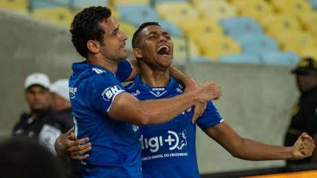 Pedro deu a única finalização ao gol do Cruzeiro, que culminou no gol da Raposa no Maracanã-Bruno Haddad/Cruzeiro