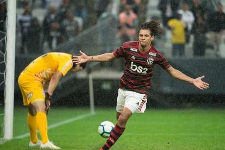 Willian Arão marcou o gol da vitória do Flamengo (Foto: Rodrigo Gazzanel/RM Sports)