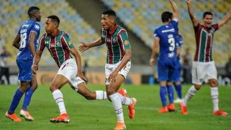 Moleques de Xerém melhoram o time e Fluminense empata no fim (Foto: Nayra Halm/Fotoarena)